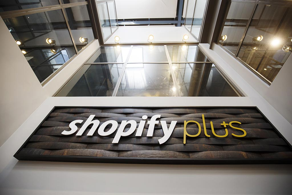 The Shopify Plus office in Waterloo in September 2018.